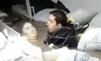 Hastaneyi su bastı, böyle kurtarıldı