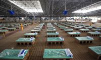 Hindistan'da Kovid-19'a karşı karton yatak çözümü
