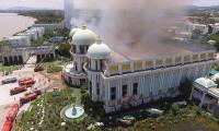 64 milyon dolarlık sarayda yangın