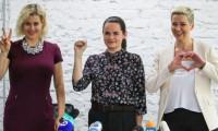 Lukaşenko'ya karşı kadınların ittifakı