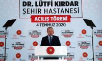 Erdoğan: Böyle bir yaklaşım olmaz