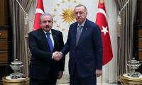 Cumhurbaşkanı Erdoğan'dan Şentop'a tebrik telefonu