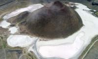 Dünyanın nazar boncuğu 'Meke Gölü'nde bir damla su kalmadı