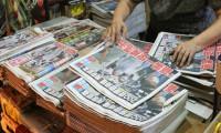 Medya patronunun tutuklanması protesto edildi