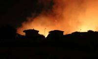 Pakdemirli bölgede! Çeşme'de otluk yangını, siteler boşaltıldı