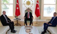 Cumhurbaşkanı Erdoğan, KKTC Başbakanı Tatar ile görüştü