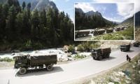 Dünyanın zirvesinde gerginlik! Askeri konvoylar görüntülendi