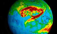 California'daki yangınların dumanları Avrupa'ya ulaştı