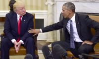 Donald Trump'ın Barack Obama ile dalga geçtiği video ortaya çıktı