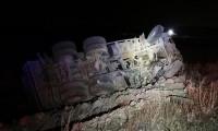 Mardin'de feci kaza: 6 ölü, 2 yaralı...