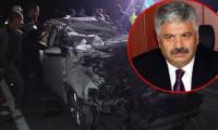 Emekli emniyet müdürü kazada hayatını kaybetti