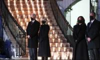 Biden'dan salgında ölen 500 bin kişi için saygı duruşu
