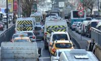 İstanbul'da trafik yoğunluğu yüzde 71'e çıktı