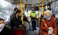 İstanbul'da toplu taşımada korona virüs denetimi