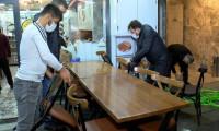 Kafe ve restoranlarda geceden hazırlık
