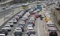 İstanbul'da trafik yoğunluğu %70'i aştı