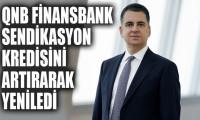 QNB Finansbank sendikasyon kredisini artırarak yeniledi