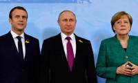 Almanya ve Fransa'dan Rusya'yla diyaloğu sürdürme kararı