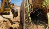 Suriye'den Türkiye yönüne kazılan tünel kullanılamaz hale getirildi