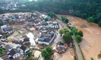 Batı Avrupa'da sel felaketi