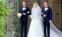 Babasından 5 yaş büyük milyarderle evlendi
