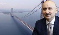Bakan Karaismailoğlu: Osmangazi Köprüsü rekor kırdı