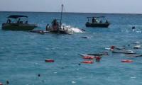 Fethiye'de tur teknesi battı!