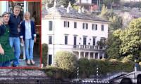 George Clooney'in lüks malikanesi sel altında kaldı