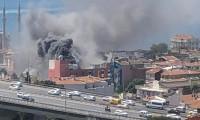 İstanbul Ortaköy'de otel yangını