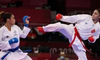Türk karateci Merve Çoban olimpiyat madalyasını garantiledi