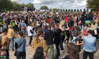 Hollanda'da artan kiralar protesto edildi