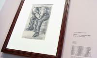 Vincent Van Gogh'a ait kara kalem çalışması keşfedildi