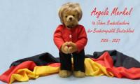 Merkel'e 'oyuncak ayı' hatırası