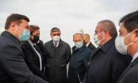 TBMM Başkanı Mustafa Şentop Kazakistan'da