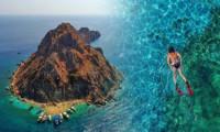Maldivler'e benzetilen Suluada'ya ziyaretçi akını