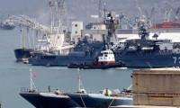 Rus savaş gemileri Akdeniz'de