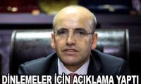 Mehmet Şimşek'ten 'dinleme' açıklaması
