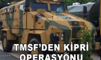 TMSF'den Kirpi operasyonu