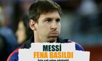 Messi'ye şok baskın!