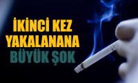 Sigara yasağının şakası yok!