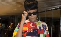 İşte Türk bayraklı Rihanna!
