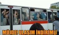 İstanbullulara ulaşım indirimli