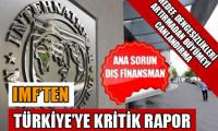 IMF'ten kritik Türkiye raporu