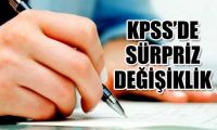 Soru sayısı ve sınav süresi azaltıldı