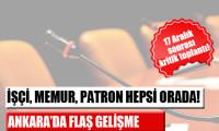 Ankara'da sürpriz zirve!