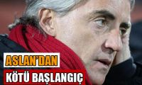 Galatasaray 2. yarıya kayıpla başladı