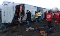 Bir otobüs faciası daha! 9 ölü