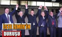 İzmir'de 4 aday el ele