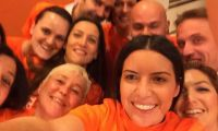 Pınar Abay'dan selfie pozu