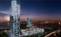 Finans merkezine 30 katlı gökdelen